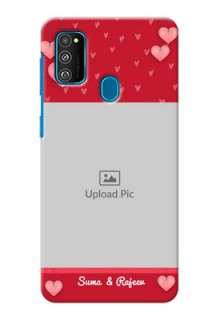 Galaxy M30s Mobile Back Covers: Valentines Day Design