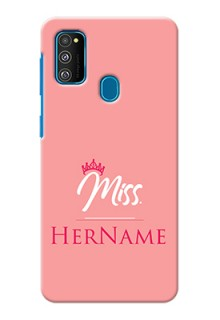 Galaxy M30S Custom Phone Case Mrs with Name