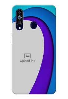 Galaxy M40 custom back covers: Simple Pattern Design