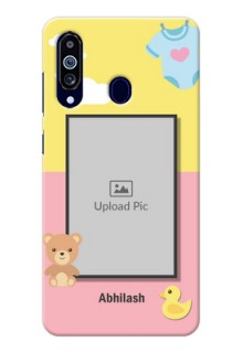 Galaxy M40 Back Covers: Kids 2 Color Design