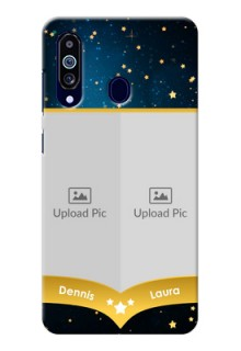 Galaxy M40 Mobile Covers Online: Galaxy Stars Backdrop Design