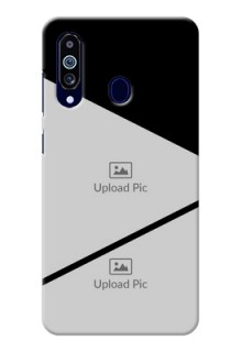 Galaxy M40 mobile back covers online: Semi Cut Design