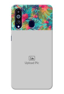 Galaxy M40 Personalized Phone Cases: Watercolor Floral Design