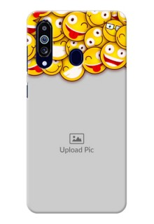 Galaxy M40 Custom Phone Cases with Smiley Emoji Design
