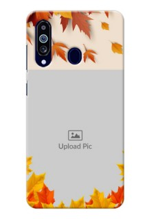 Galaxy M40 Mobile Phone Cases: Autumn Maple Leaves Design