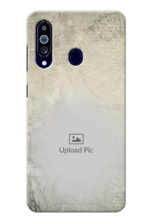Galaxy M40 custom mobile back covers with vintage design