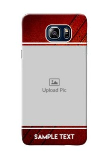 Samsung Galaxy Note5 Duos Leather Design Picture Upload Mobile Case Design