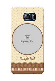 Samsung Galaxy Note5 Duos Brown Abstract Mobile Case Design
