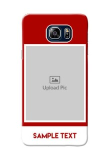Samsung Galaxy Note5 Duos Simple Red Colour Mobile Cover  Design