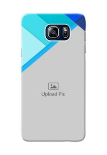 Samsung Galaxy Note5 Duos Blue Abstract Mobile Cover Design