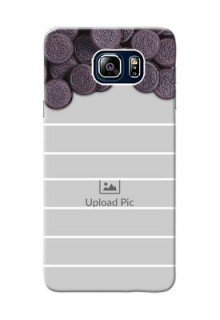 Samsung Galaxy Note5 Duos oreo biscuit pattern with white stripes Design Design