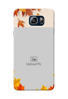 Samsung Galaxy Note5 Duos autumn maple leaves backdrop Design