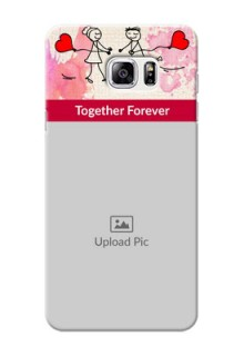 Samsung Galaxy Note5 Just You And Me Mobile Back Case Design