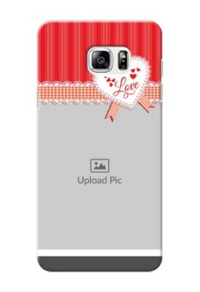 Samsung Galaxy Note5 Red Pattern Mobile Cover Design