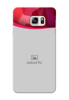 Samsung Galaxy Note5 Red Abstract Mobile Case Design