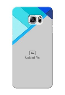 Samsung Galaxy Note5 Blue Abstract Mobile Cover Design