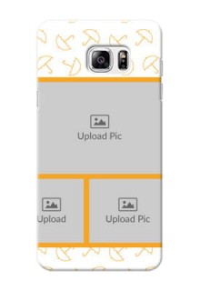 Samsung Galaxy Note5 Yellow Pattern Mobile Back Cover Design