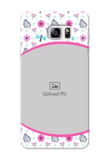 Samsung Galaxy Note5 Colourful Flowers Mobile Cover Design