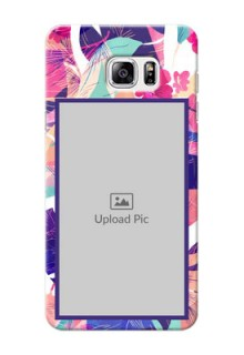 Samsung Galaxy Note5 abstract floral Design