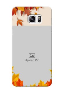 Samsung Galaxy Note5 autumn maple leaves backdrop Design