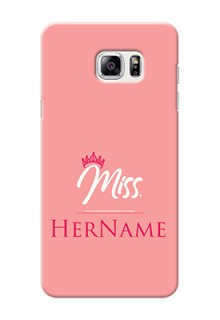 Galaxy Note5 Custom Phone Case Mrs with Name