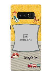 Samsung Galaxy Note8 Baby Picture Upload Mobile Cover Design