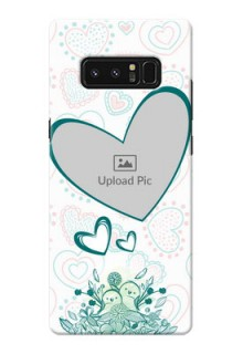 Samsung Galaxy Note8 Couples Picture Upload Mobile Case Design