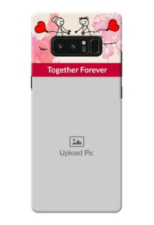 Samsung Galaxy Note8 Just You And Me Mobile Back Case Design