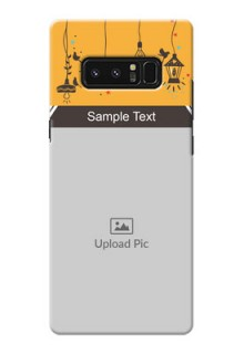 Samsung Galaxy Note8 my family design with hanging icons Design Design