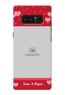 Samsung Galaxy Note8 valentines day couple Design