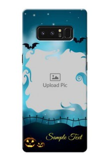 Samsung Galaxy Note8 halloween design with designer frame Design