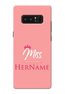 Galaxy Note8 Custom Phone Case Mrs with Name
