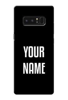 Galaxy Note8 Your Name on Phone Case