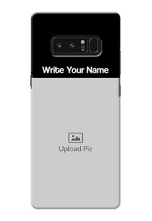 Galaxy Note8 Photo with Name on Phone Case