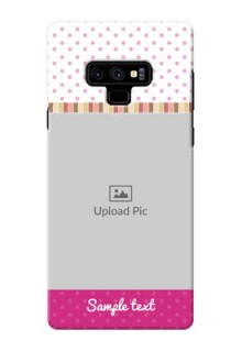 Samsung Galaxy Note 9 custom mobile cases: Cute Girls Cover Design