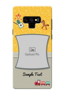 Samsung Galaxy Note 9 Mobile Cases Online: Baby Picture Upload Design