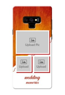 Samsung Galaxy Note 9 Personalised Phone Cases: Wedding Memories Design