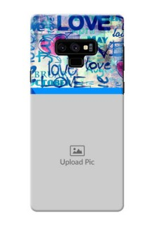 Samsung Galaxy Note 9 Mobile Covers Online: Colorful Love Design