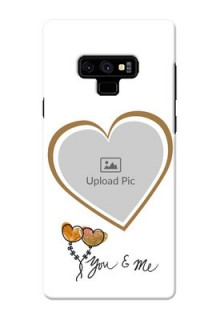 Samsung Galaxy Note 9 customized phone cases: You & Me Design
