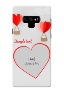 Samsung Galaxy Note 9 Phone Covers: Parachute Love Design