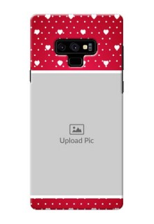 Samsung Galaxy Note 9 custom back covers: Hearts Mobile Case Design