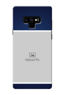 Samsung Galaxy Note 9 Mobile Cases: Simple Royal Blue Design