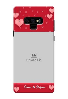Samsung Galaxy Note 9 Mobile Back Covers: Valentines Day Design
