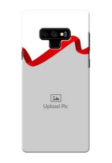 Samsung Galaxy Note 9 custom phone cases: Red Ribbon Frame Design