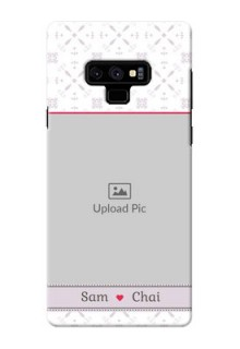 Samsung Galaxy Note 9 Phone Cases with Photo and Ethnic Design
