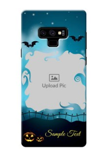 Samsung Galaxy Note 9 Personalised Phone Cases: Halloween frame design