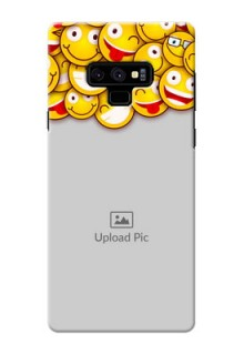 Samsung Galaxy Note 9 Custom Phone Cases with Smiley Emoji Design