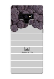 Samsung Galaxy Note 9 Custom Mobile Covers with Oreo Biscuit Design
