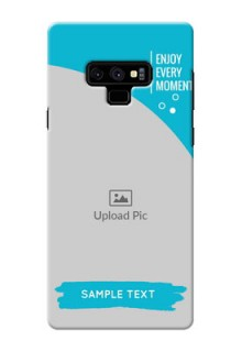 Samsung Galaxy Note 9 Personalized Phone Covers: Happy Moment Design