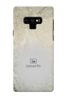 Samsung Galaxy Note 9 custom mobile back covers with vintage design